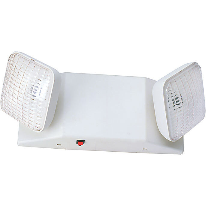 Dysmio EM1L-LED de luz de emergencia, ajustable, con batería, de fácil instalación.