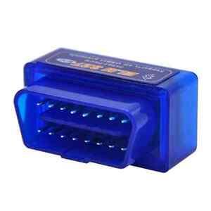 mini elm327 bluetooth obdii obd2 car auto test device interface diagnostic scanner ebay. Black Bedroom Furniture Sets. Home Design Ideas