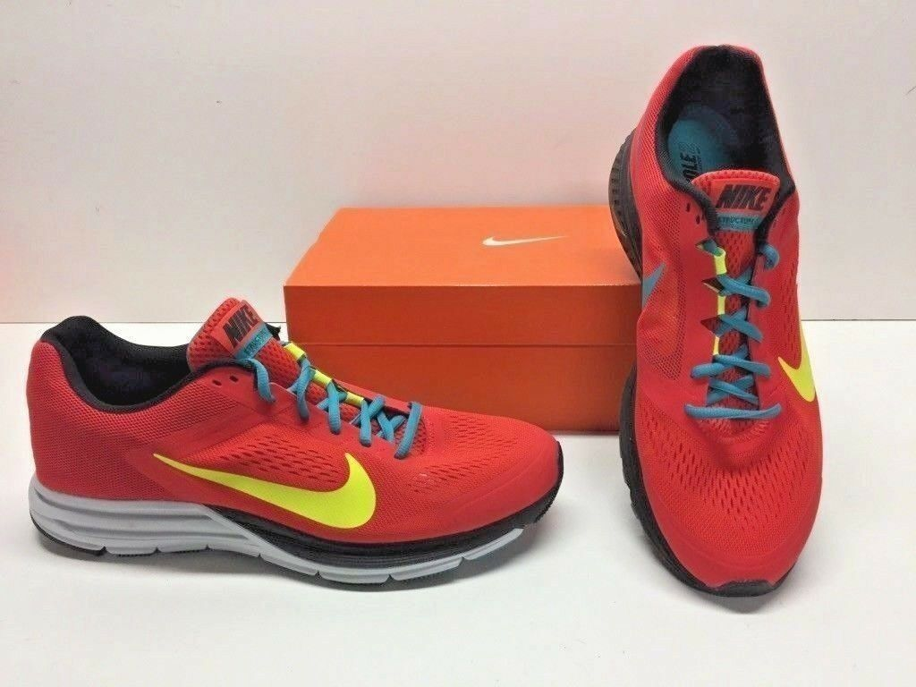 Nike Zoom Structure + 17 Sneakers Running Cross Training Red Sneakers 17 Shoes Mens 11 11ddc7