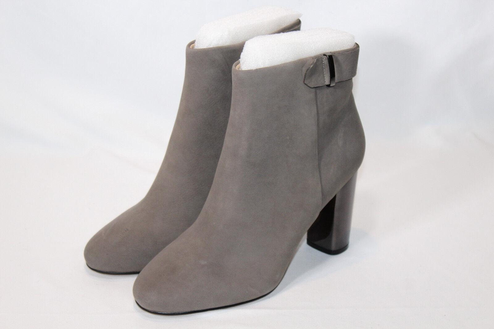 G.I.L.I. Leder Block Heel Ankle Stiefel - Kallie 9.5 MEDIUM STONEUALL NWD