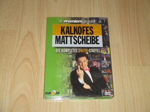 1 von 1 - Kalkofes Mattscheibe - Die Komplette 3. Staffel  4 DVD Box  Comedy  Serie
