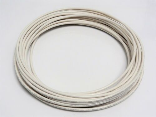 18 GAUGE WIRE WHITE 25 FT PRIMARY AWG STRANDED COPPER POWER REMOTE MTW  MACHINE