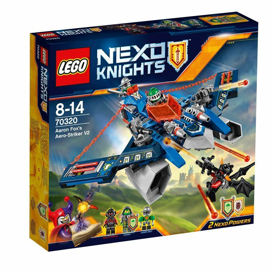 Lego  NEXO KNIGHTS 70320 Aaron Fox's Aero-Striker V2