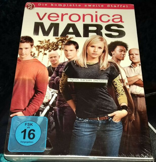 Veronica Mars Die komplette zweite Staffel 6 DVD in German with English  version