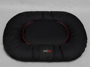 Lit Pour Chien Ponton Comfort Lit Pour Animal De Compagnie Chien Canapé Couverture De Chien Xxl Noir Avec Rouge