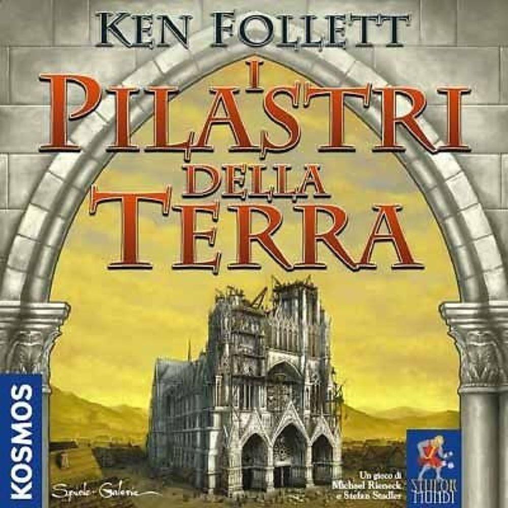 Ken Follet, I Pilastri della Terra - Gioco da Tavolo - Nuovo, Italiano