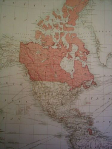The Howard Vincent Map Of The British Empire 1924 21st Edition