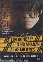 Los Hombres Que No Amaban A Las Mujeres / Milennium 1 Dvd Brand Sealed