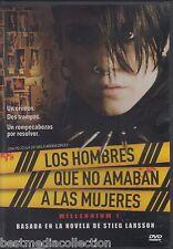Los Hombres Que No Amaban A Las Mujeres / Milennium 1 DVD NEW Brand New SEALED