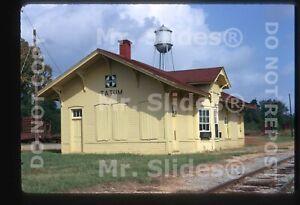 Original-Slide-ATSF-Santa-Fe-Tatum-TX-Station-In-1973
