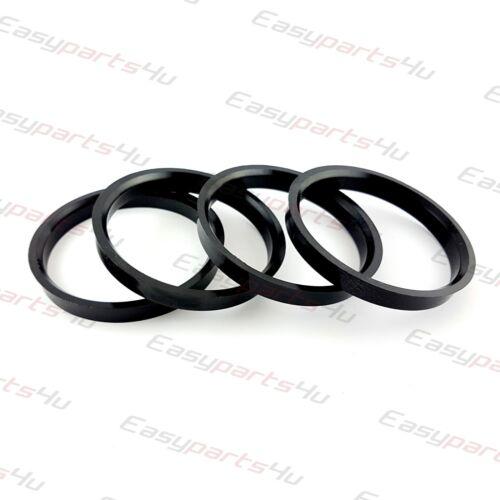 4x Plastique Bagues De Centrage 70,0-63,3 mm pour roues en alliage