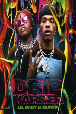 Lil Baby and Gunna Drip Harder Album Cover Poster
