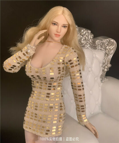 1//6 Scale CJG-W013 Evening Dress Clothing Fit 12/'/' Female PHicen Figure Body Toy