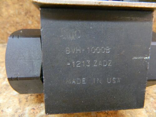 """Details about  /DMIC  actuated ball valve  1/"""" bspt   6000 psi   BVH-1000B-1213ZADZ"""