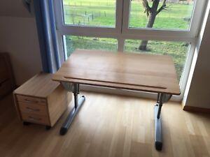 Schreibtisch-Schueler-Kettler-Arena-buche-massiv-aehnlich-Moll-Ovato