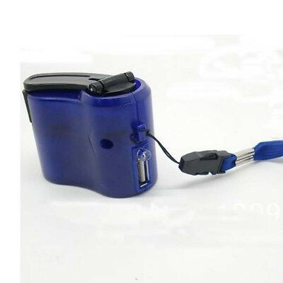 Mini Emergency Hand Power Dynamo Hand Crank USB Mobile Phone Cell Phone Charger