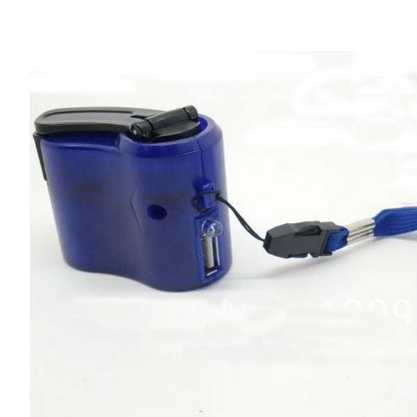 Hand Power Dynamo Hand Crank USB Mobile Phone Cell Phone Charger Mini Emergency