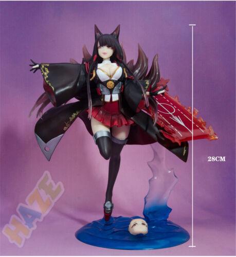 Spiel Azur Lane Akagi 1//7 PVC Figur Spielzeug Sammlung Geschenk 28CM