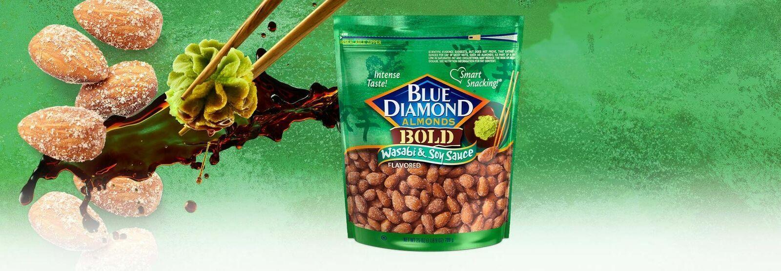 Bold Wasabi & Soy Sauce Almonds, 25 oz