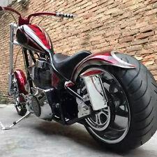 Chrome Motorcycle Side Mount License Plate Bracket For Harley Davidson Big Dog