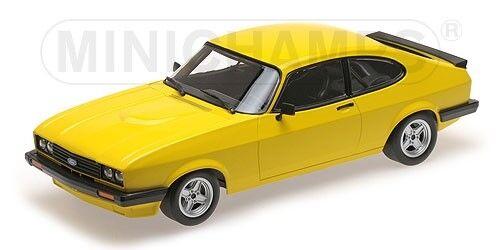 Minichamps 155788601 - FORD Capri 3.0 1978 yellow 1 1 1 18 2b7874