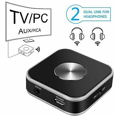 Bluetooth-audio-transmitter Mit 3,5-mm Aux Rca Usb-eingang Tv-computer-laptop
