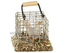 Taube im Käfig für Krippe, Krippenzubehör, zu 12-14 cm Fig., Kahlert 40073