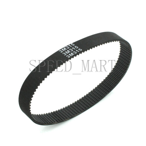 315-3M HTD Timing Belt 105 Teeth Cogged Rubber Geared Closed Loop 15mm Wide
