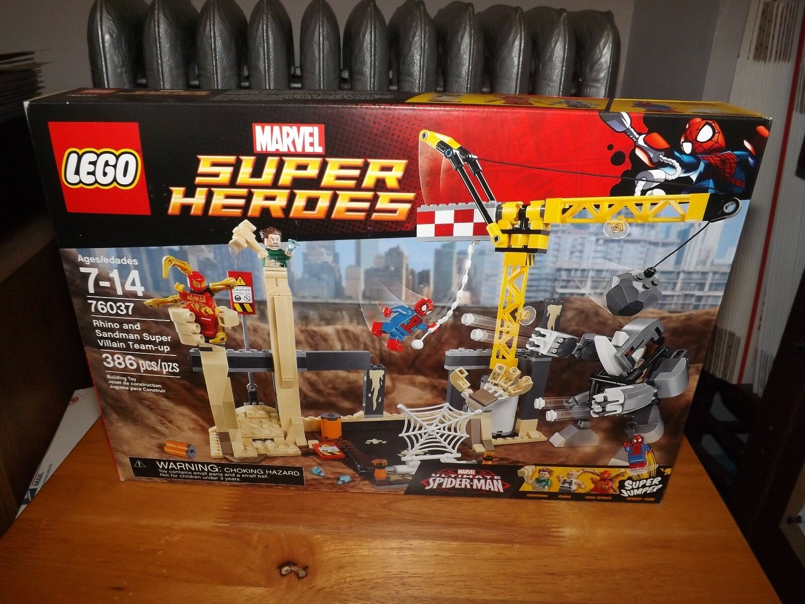 LEGO, SPIDER-MAN, RHINO AND SANDMAN SUPER VILLAIN TEAM UP,  76037, NIB, 2015