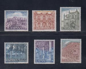 ESPANA-1970-NUEVO-MNH-SPAIN-EDIFIL-1982-87-TURISMO