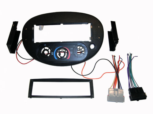 Ford Escort Tracer ZX2 RADIO STEREO DASH FACEPLATE INSTALL KIT+WIRE HARNESS