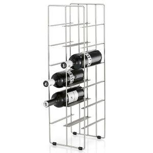Blomus-Weinflaschenregal-Pilare-fuer-12-Flaschen-Stahl-matt-vernickelt-68486