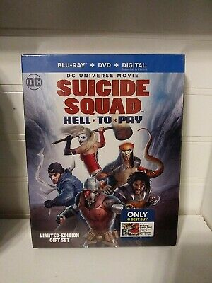 Suicide Squad Extended Cut Blu-Ray Best Buy Exclusive