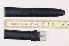 Original JACQUES LEMANS Ersatzband 20mm Blau Uhrenarmband Kalbsleder L