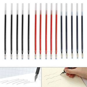 3X 0.5mm Ball Point Pen Stationary Gel Ink Pen Black Daily Work Study Kits Chic