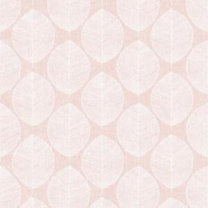 Details About Blush Pink White Scandi Leaf Print Modern Wallpaper Arthouse 908200