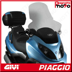 D501ST PARABREZZA SPECIFICO TRASPARENTE 82 X 64 PIAGGIO MP3 125 2006>2011