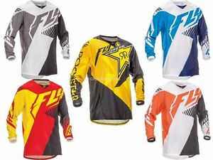 Fly Racing Kinetic Vector Jersey Motocross Off-Road Dirt Bike Riding ... 96bfb438e