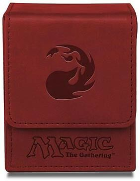 Red Mana Symbol Flip Top Deck Box Matte Ultra Pro GAMING SUPPLY BRAND NEW
