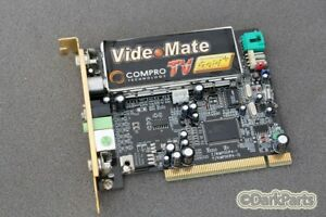 DRIVERS FOR COMPRO VIDEOMATE TV PCI CARD