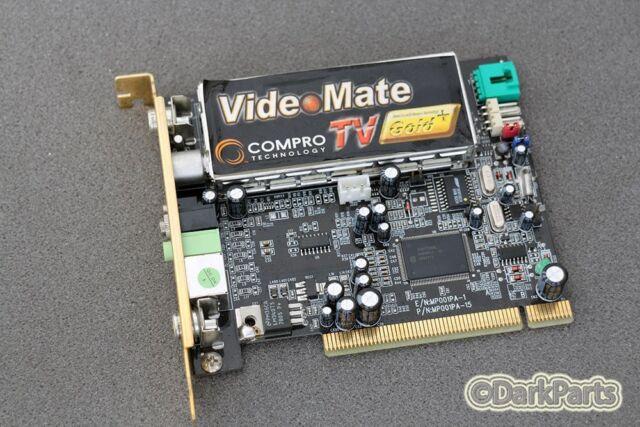 Compro Videomate Mp001pa 15 TV Gold PCI Card 1mp06pgcj154