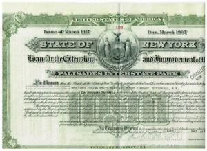 State of New York, 1940, $ 1000, ...Palisades Interstate Park, seltener angebote