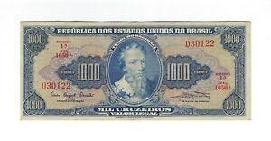 1000-Cruzeiros-Bresil-1961-c054-p-173a-Brazil-billet