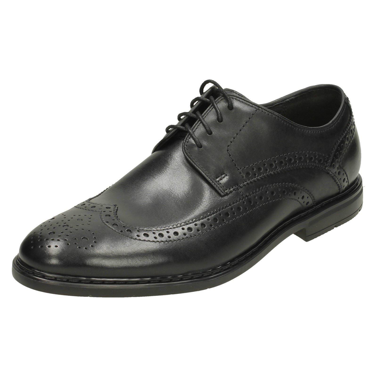 Mens Clarks Banbury Limit Formal Leather Lace Up shoes
