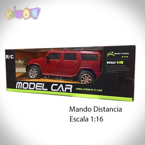 9232 Model Car Car Car rosso HUMMER 24dbd1