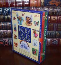 Fairy Tales Poems by Grimm Andersen Keats Carroll  Sealed Hardcover Box Set