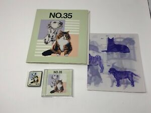 Brother-Embroidery-Card-NO-35-USED-Cats-and-Dogs