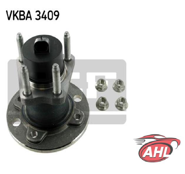 SKF VKBA 3409 Kit de roulements de roue OPEL ASTRA F G COMBO 01- 4-LOCH