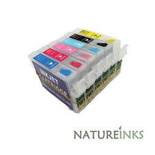 6 refill ink cartridge alternative to Epson T0481 T0482 T0483 T0484 T0485 T0486