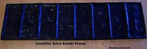 1-Old-Brick-Border-Decorative-Concrete-Cement-Stamps